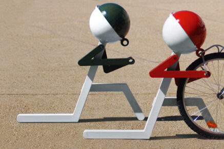 Стойка велосипеда